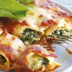 Spinach-Ricotta-Cannelloni